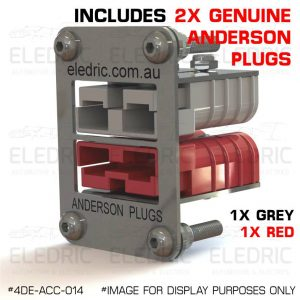 4DE-ACC-014-ANDERSON-PLUGS-RECESS-MOUNT-PLATE-03 RED