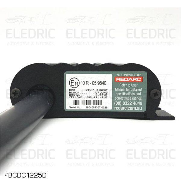 REDARC BCDC1225D BACK