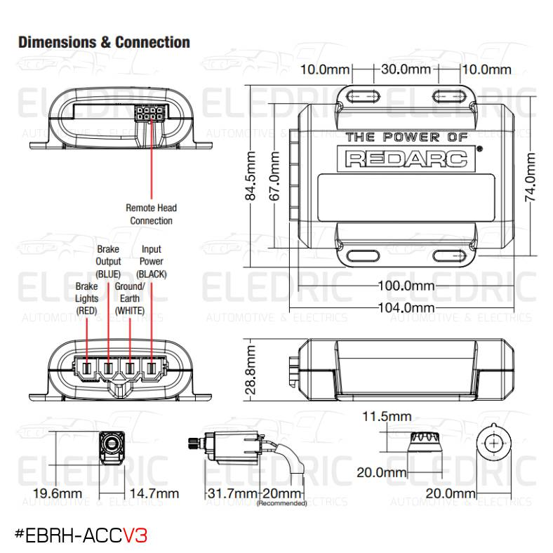 Anderson Trailer Electric Brake Wiring Diagram from eledric.com.au